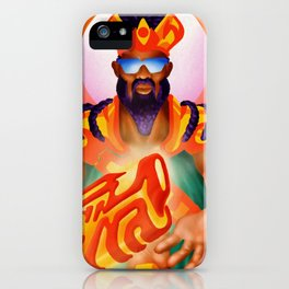 Down Major Set Inside Throws iPhone Case