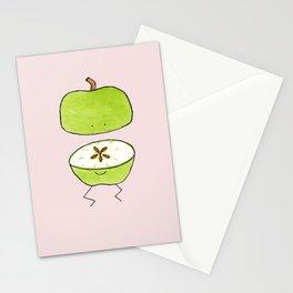 Apple Halves Stationery Cards