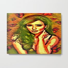 Beauty Of Kim Metal Print