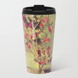 Flower tree impression Travel Mug