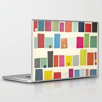 city Laptop & iPad Skins featuring City by Cassia Beck