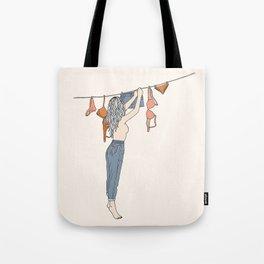 Girl Next Door Tote Bag