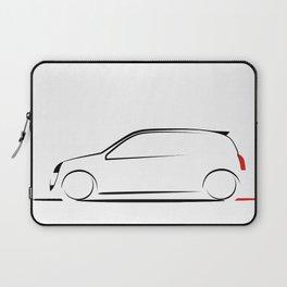 Clio silhouette Laptop Sleeve