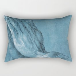 Praying Hands by Albrecht Dürer Rectangular Pillow