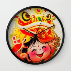 Chinese New Year 2013 Wall Clock