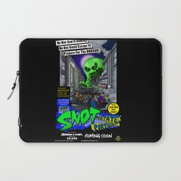 The Snot That Ate Port Harry poster Laptop Sleeve