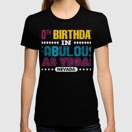 40th Birthday In Las Vegas 40 Years Old T-shirt