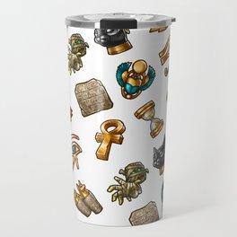Nefertiti's Quest : Patterns Travel Mug