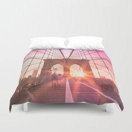 NYC Brooklyn Bridge Duvet Cover