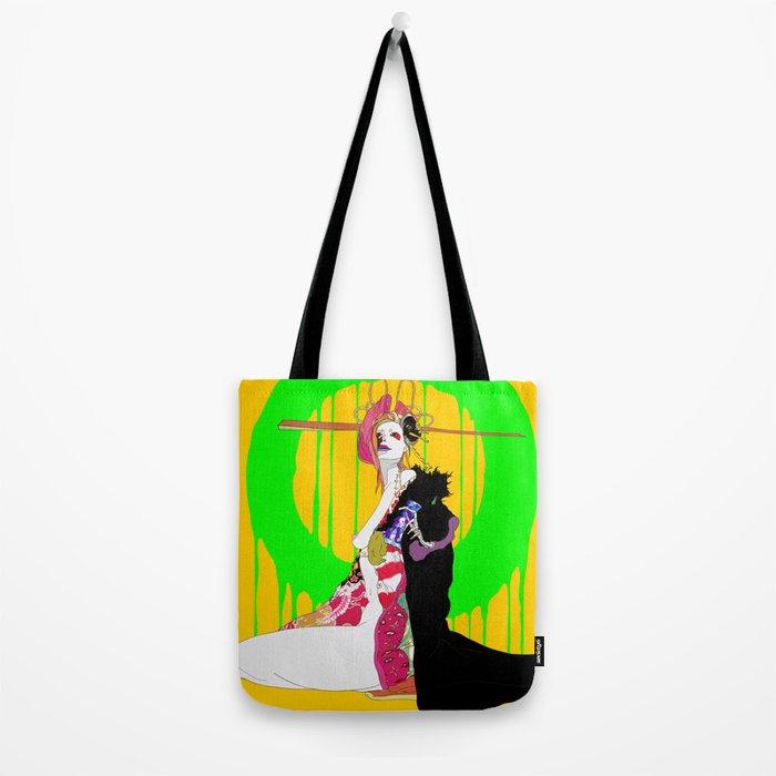 地獄太夫 (あなたを道連れ) - JIGOKUDAYU (ANATAWOMICHIZURE) Tote Bag