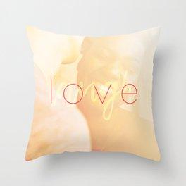 Love / Laugh Throw Pillow