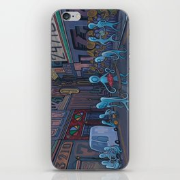 Number City iPhone Skin