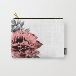 Watercolour photographic Peony Carry-All Pouch