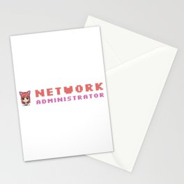 Cute Network Administrator Stationery Cards