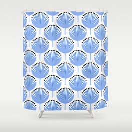 Spring Blues - Dandelion Shower Curtain