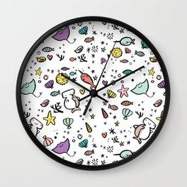 Fishy Love Wall Clock