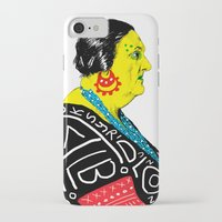 fat iPhone & iPod Cases featuring Fat Woman by R. Gorkem Gul