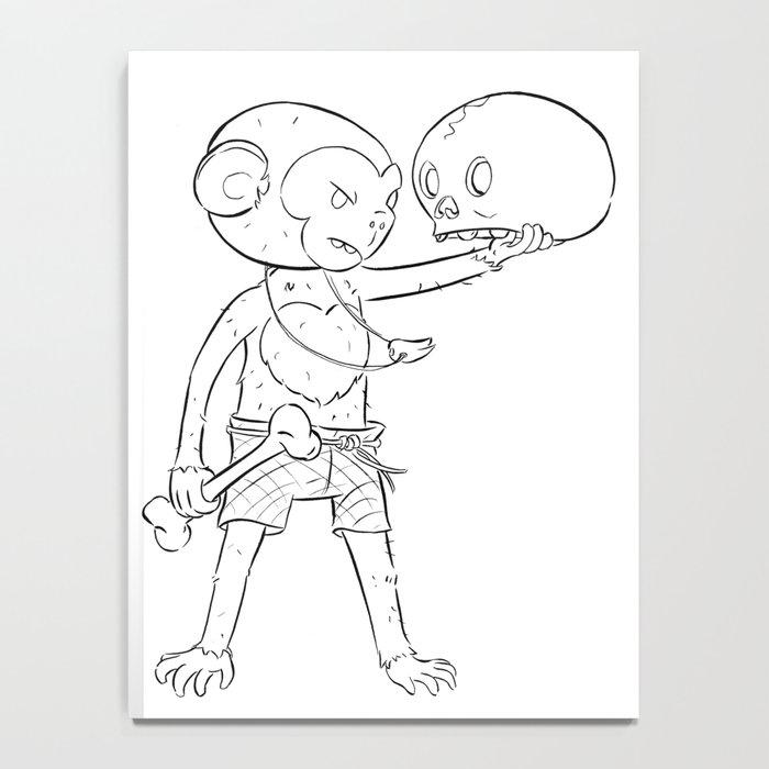 Monkey Pirate - ink Notebook