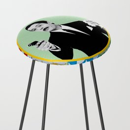Sicilian Style Series - Fefè  - 02  © Toy Leone Counter Stool