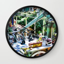 Grab Shell and Head to Mall of America Wall Clock