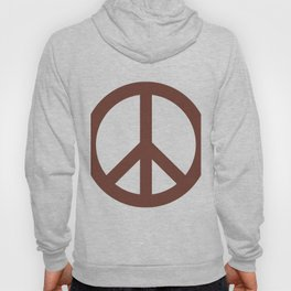 Peace (Brown & White) Hoody