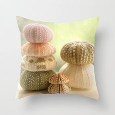 Sea Urchins... Throw Pillow