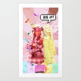 As if Art Print