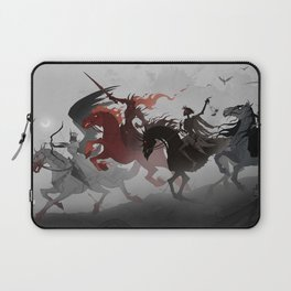 Four Horsemen of the Apocalypse Laptop Sleeve