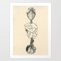 Exquisite Corpse VI Art Print