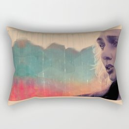 Blue sense8 Rectangular Pillow