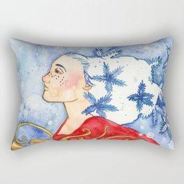 The Snowflake Spirit Rectangular Pillow