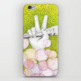 Pointillism iPhone Skin