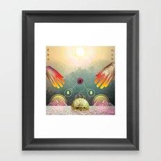 Aton Framed Art Print
