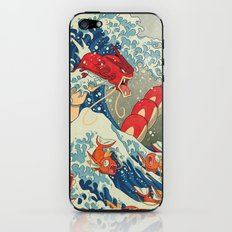 The Great Red Wave iPhone & iPod Skin