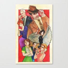 Mad, Mad World Canvas Print