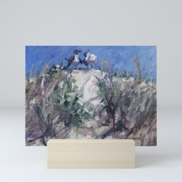 Very Funny — Birds on a Dune Mini Art Print