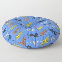 Big Cat Pattern Floor Pillow
