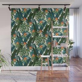 Bird of paradise Wall Mural