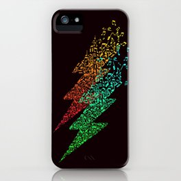 Electro music iPhone Case