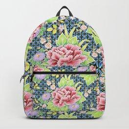 Kimono Bouquet Brocade Backpack