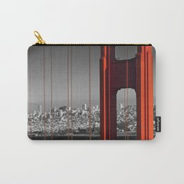 Golden Gate Bridge | Panoramic Downtown View Carry-All Pouch