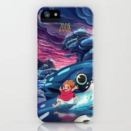 Ponyo iPhone Case