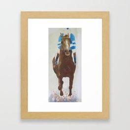Racehorse Framed Art Print