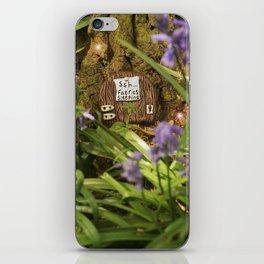 Fairies sleeping iPhone Skin