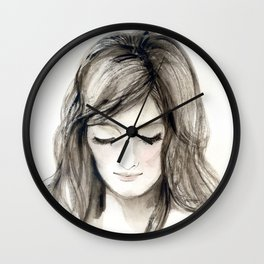 A portrait 4 Wall Clock
