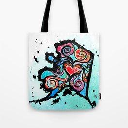 Alaska Love Tote Bag