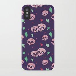 Funny Bone Feelings pattern iPhone Case