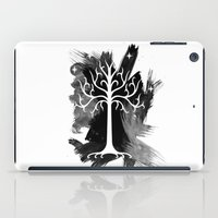 gondor iPad Cases featuring White Tree Of Gondor by Icarusdie