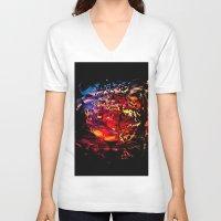 invader zim V-neck T-shirts featuring Invader by dirdamal