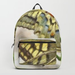 Butterfly Watercolor Backpack